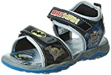 Batman Boy's Black and Grey Sandals and Floaters - 13 kids UK/India (32 EU)