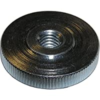 10 St/ück massiv Stahl br/üniert DIN 467 M5 Metall R/ändelmutter