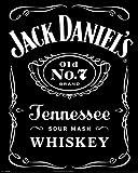 Jack Daniels Laminiert Mini Poster 39;s Label 40 x 50 cm