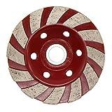 Latinaric disco di taglio da 100 mm disco abrasivo diamantato disco di pietra smerigliatura cemento calcestruzzo, rosso