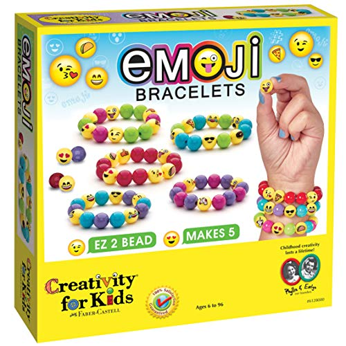emoji armband Kreativität für Kinder.