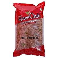 The Spice Club White Brown Rice (Vellai Sivapparisi) Diabetics 1kg – 100% Natural & Traditional
