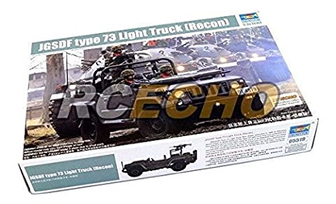 RCECHO® TRUMPETER Military Model 1/35 JGSDF type 73 Light Truck (Recon) 05519 P5519 with RCECHO® Full Version Apps Edition