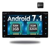 Mejor Modelo Wifi Android 7.1 Octa-Core 6.2' pantalla tš¢ctil completa universal coches reproductor de DVD 2 din en el tablero estšŠreo de navegacišn GPS con construido en Bluetooth 2 GB de RAM