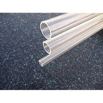 Tube acrylique (plexiglass) XT 16*12 mm longueur 1000 mm transparente PMMA XT Tubes