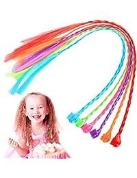 DELFINO Farfalla Glitter Pearly Clip per capelli Clip confezione da 6 Multicolore