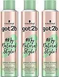 got2b - My Natural Style Spray Fixant Cheveux - Léger Comme l'Hair 300 ml - Lot de 3
