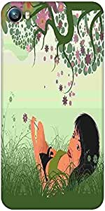 Snoogg abstract background Designer Protective Back Case Cover For Micromax Canvas Fire 4 A107