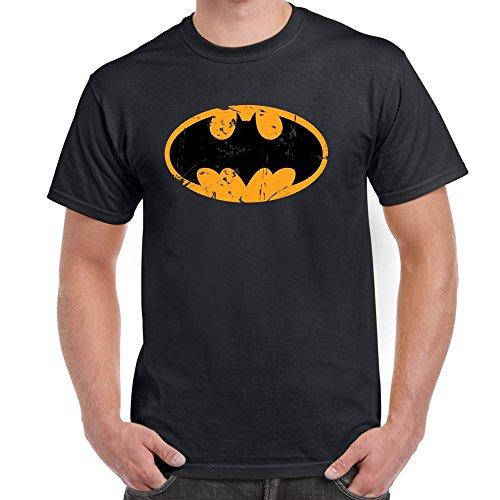 Mens Funny Printed T Shirts-Batman Inspired Logo DC Comics tshirt