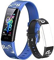 Dwfit Fitness Tracker Smartwatch Orologio Bambino Bambina Uomo Donna,Contapassi Smartwatch Activity Tracker Sp