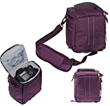 Navitech Purple Digital Camera Carrying Case and Travel Bag For The Polaroid One Step 2