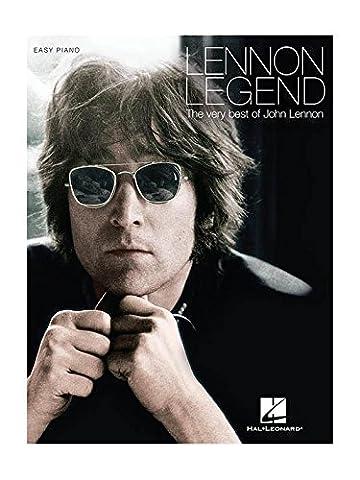 Lennon Legend: The Very Best Of John Lennon. Partitions pour Piano, Chant et Guitare