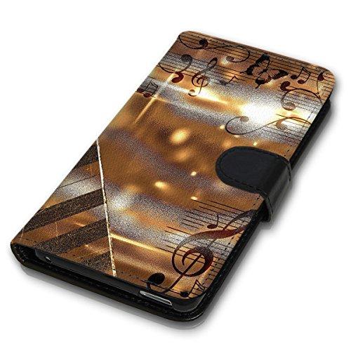 Wallet Book Style Flip Handy Tasche Case Schutz Hülle Schale Motiv Etui für Apple iPhone 6 / 6S - Variante UMV20 Design12 Design 2