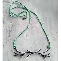 ONDE necklace light green
