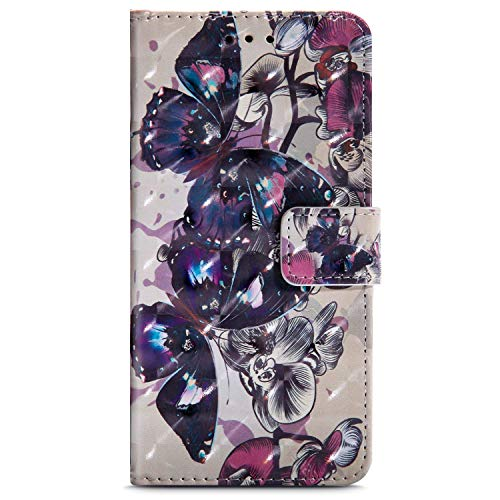 Surakey Cover per iPhone 5 5S SE in Pelle Flip Libro Protettiva