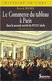 Le Commerce du tableau à Paris dans la seconde moitié du XVIIIe siècle - Acteurs et pratiques