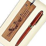 Holz geschnitzt Bambus Muster Holz Schreiben Rollerball Kugelschreiber Künstlerische