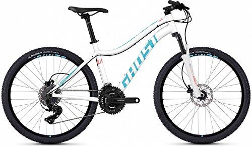 Ghost Lanao 1.6 AL W 26R Mountain Bike 2018 weiß (L/50cm, Star White/Lake Blue) (Ghost Fahrrad)