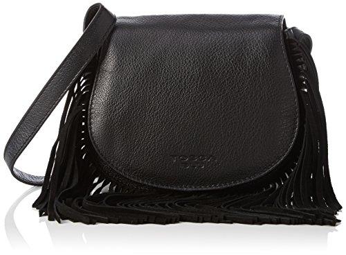 Tosca BluEARL GREY - Borsa Donna , Nero (Schwarz (BLACK C99)), 20x17x10 cm (B x H x T)