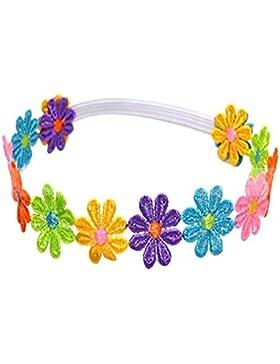 lsv-8cute Baby bambini ragazza fascia per capelli con fiori colorati