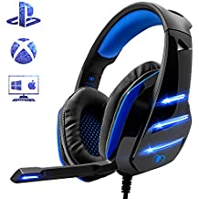 Beexcellent gm-3Gaming Headset per PS4/PC–rosso