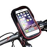 Titular del Teléfono De La Bicicleta A Prueba De Agua, 360 Grados De Rotación De TPU Marco De Navegación De Pantalla Táctil, Conveniente para Los Teléfonos Inteligentes Bajo 6.0 Pulgadas