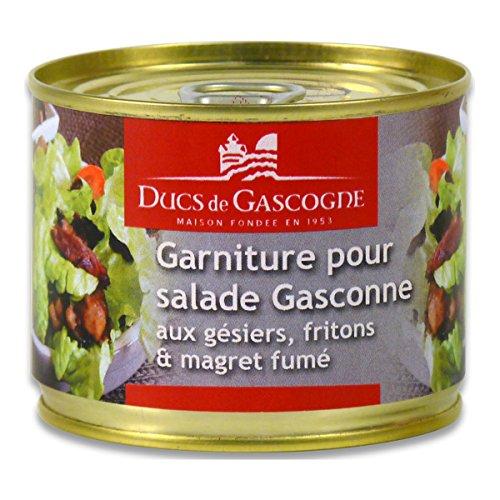 Ducs de Gascogne - Garniture pour salade Gasconne aux gésiers, fritons & magret fumé 180g