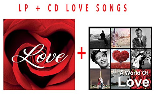 Vinile Love Songs e CD Canzoni D'Amore, Stand by Me, Love Me Tender, Unforgetable, Romance ...