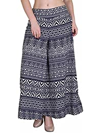 Hipe Indian Ethnic Designer Printed Casual Wear Palazzo Pant For Women's - B0752T494S