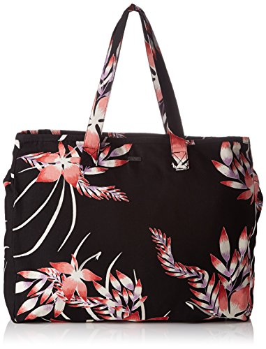 Roxy Damen Single Water B Schultertaschen, Noir (Anthracite Drop Out), 32 x 14.5 x 40 cm (Canvas Roxy Schuhe)