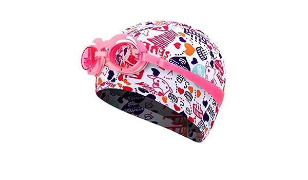 G1 occhialini da Nuoto Black Temptation Cuffia in Stoffa Colorata Cuffia da Nuoto Unisex//per Bambini