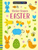 Sticker Shapes Easter (Usborne Minis)