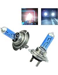 Tradico® 2X Dc 12V 100W H7 6000K Xenon Gas Halogen Headlight White Light Lamp Bulbs