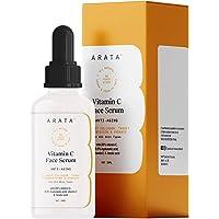 Arata Vitamin C Face Serum For Glowing Skin (30 ML) | Anti-Aging, Boosts Collagen & Targets Pigmentation | All Skin…