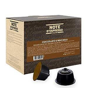 Note D'Espresso Preparato Solubile per Bevanda al Gusto di Cioccolato ed Nocciola in Capsule esclusivamente compatibili…