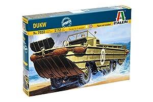 Italeri 7022 1:72 Kit de Montaje Coche - Modelos de vehículos Militares de Tierra (1:72, Kit de Montaje, Coche, DUKW, De plástico, Second World War)