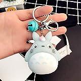 AMA-StarUK36 Schlüsselanhänger Totoro Puppe Cartoon, Schnellverschluss, abnehmbare Schlüsselringe, 03