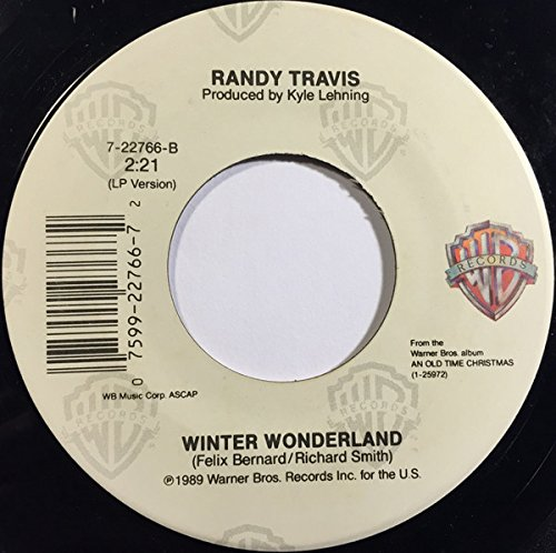 Oh, What A Silent Night [Vinyl Single 7''] (Randy Travis-vinyl-records)