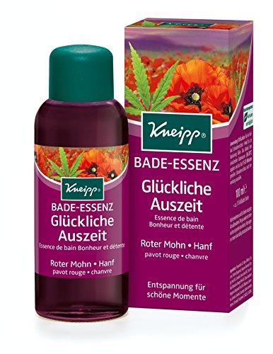 Kneipp - Gesundheitsbad feliz hacia fuera del baño de aceite de adormidera y cáñamo, 1 paquete (1 xp 100 ml) 100 ml