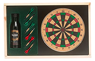 Vintage Marque Glenfiddich Malt Whisky and Mini Darts Set 5 cl