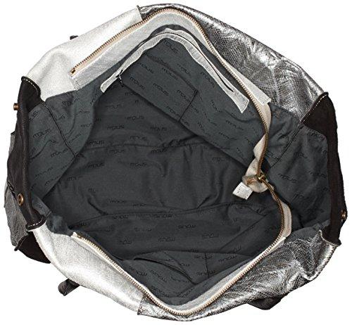 Mjus 201018, sac bandoulière Schwarz (phard+cdf+nero+nero)