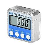 CNRGHS Strumento di Livello Magnetico Digitale, Livello Elettronico, Inclinometro Digitale Sensore di Misurazione del Livello del Piede di Precisione a 360 °, La Cartuccia del Misuratore Dell'angolo