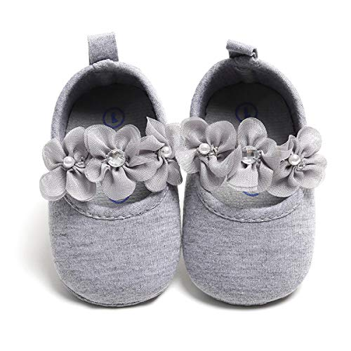 Coupon Matrix - Sabe Baby Floral Girls Non-Slip Soft Soled Suede Leather Sandals Dress Ballerina First Pram Shoes Infant Elegant Wedding Party Baby Walkers