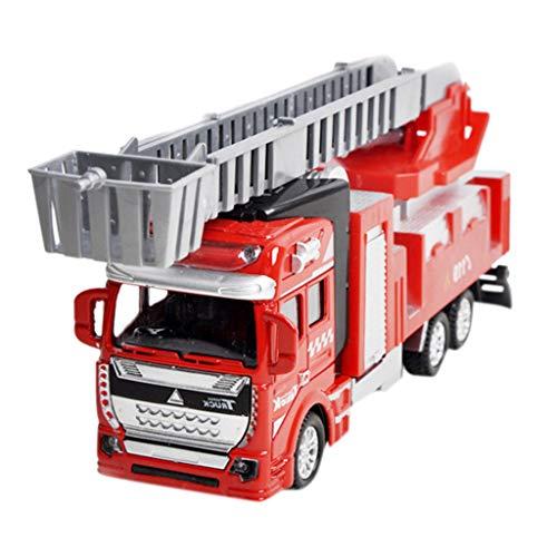 Legierung Feuer LKW Engineering LKW Modell Klassische Spielzeug kinderspielzeug zurückziehen Legierung trägheit Auto Dekoration Junge mädchen Geschenk ()