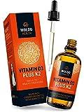 Vitamin D3 K2 Tropfen hochdosiert - 50 ml I D 3 1.000 I.E. I K 2 MK7 All-Trans MCT Kokosöl