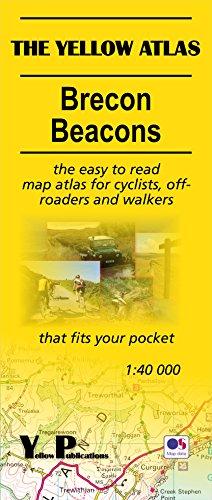Brecon Beacons Karten Atlas ~ Yellow Map Atlas -