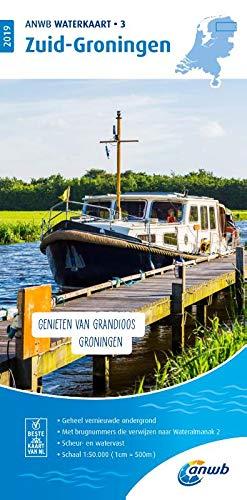 Waterkaart 03 Zuid-Groningen 1:50 000: Wasserkarte: WATERKAART 3 ZUID-GRONINGEN 2019 por ANWB