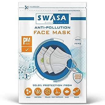 SWASA N95 Mask FFP2 - PM 0.3 μm (1)