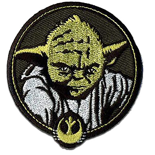Parches - Star Wars 'Yoda 2' - negro - 7 x 6