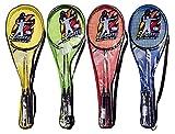 CH Trading HL-Badminton - Set di 2 Racchette e 1 Palla in Borsa